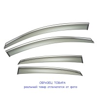 Дефлекторы Окон с ХромомHondaCR-V2012-18