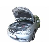 Амортизаторы упоры капота Nissan Almera G15 2013-18