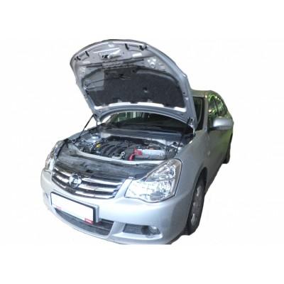 Амортизаторы капота Nissan Almera G15 2013-18