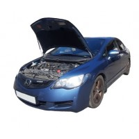 Амортизаторы капота Honda Civic 8 4D 2005-11 кроме двигателей Hybrid (1 амортизатор)