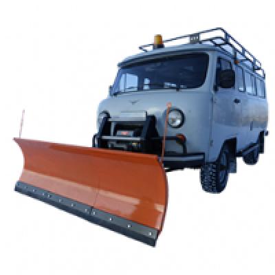 Отвал снегоуборочный (быстросъемный) серии «Стандарт» 2,3м для а/м семейства УАЗ