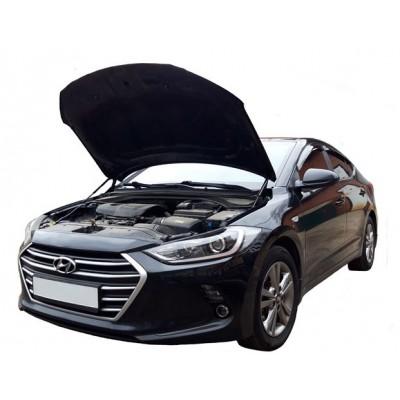 Амортизаторы упоры капота Hyundai Elantra 6 2015-20