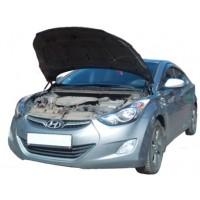 Амортизаторы упоры капота Hyundai Elantra 5 2010-16