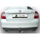 Фаркоп для VW POLO (седан)(6R1) 2010-.../ SKODA RAPID (лифтбек) (NH) 2012-... + электрика