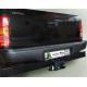 Фаркоп для TOYOTA HILUX (4WD) (N2) с задним силовым бампером 2008-2015 + электрика