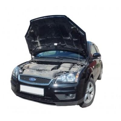 Амортизаторы упоры капота Ford Focus 2 дорестайл 2004-08 (2 амортизатора)