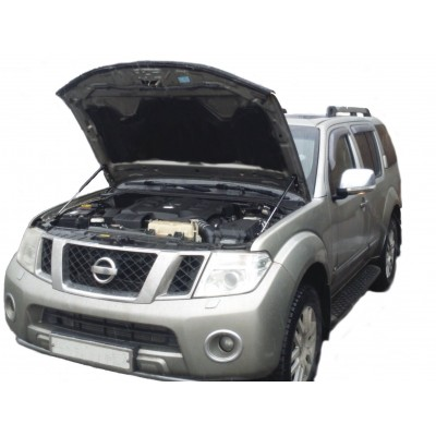 Амортизаторы упоры капота Nissan Pathfinder R51 2004-14/ Navara D40 2004-14