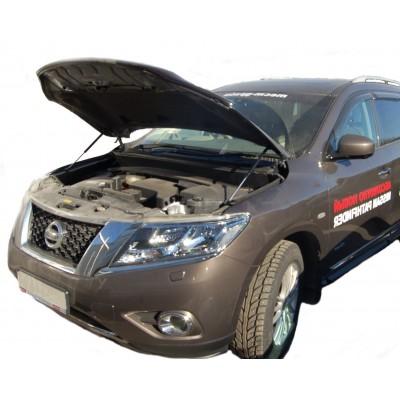 Амортизаторы капота Nissan Pathfinder R52 2014-