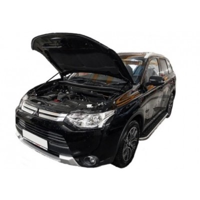 Амортизаторы упоры капота Mitsubishi Outlander 3 2012-