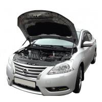 Амортизаторы капота Nissan Sentra B17 2014-19