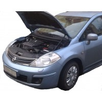 Амортизаторы упоры капота Nissan Tiida C11 2004-13 (1 амортизатор)