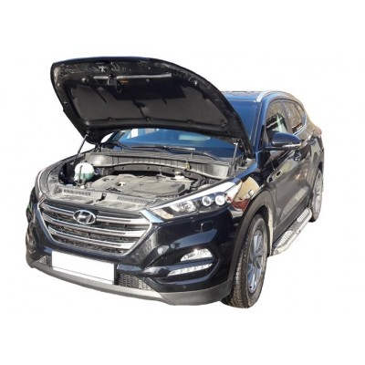Амортизаторы упоры капота Hyundai Tuсson 3 2015-